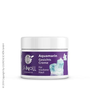 Aquamarin GesichtsCreme, für trockene Haut
