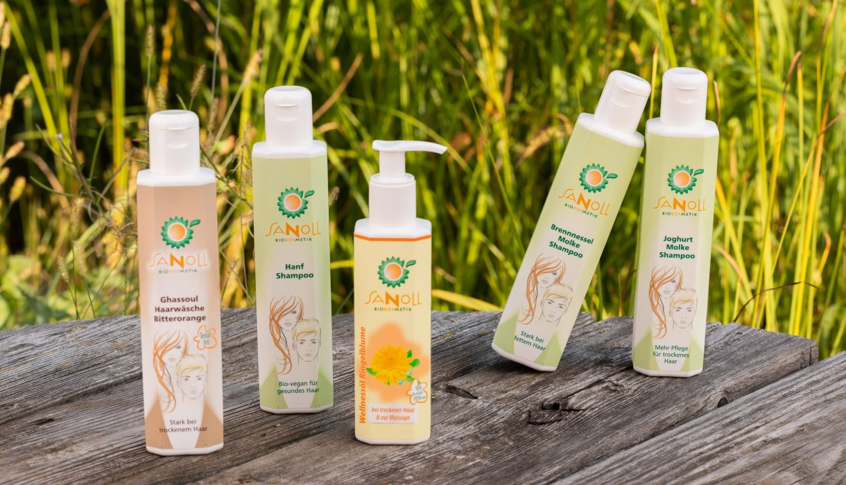 Bio Kosmetik Produkte von Sanoll aus Österreich, Tirol, Stams