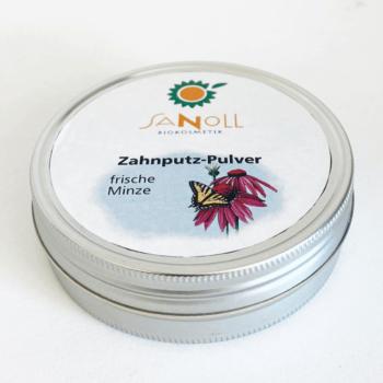 Zahnputz-Pulver frische Minze